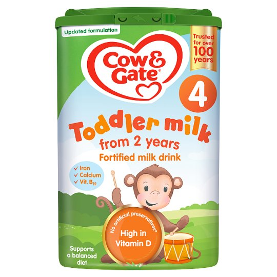 Cow And Gate 4 Growing Up Milk Powder 2+ Years 800G
