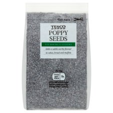 Tesco Poppy Seeds 100G