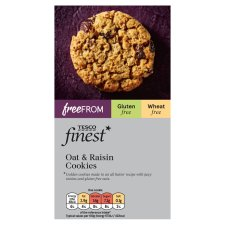 Tesco Finest Free From Oat And Raisin Cookies 150G