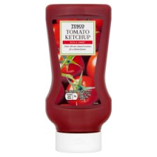 Tesco Top Down Tomato Ketchup 550G
