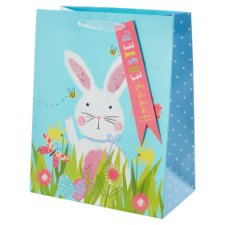 Tesco Large Easter Bunny Portrait Bag