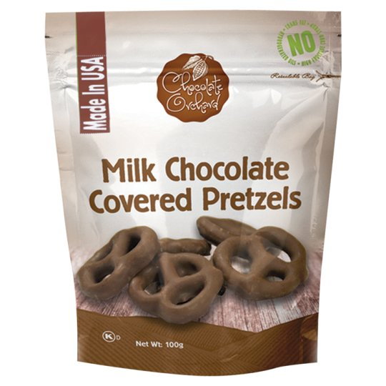 Chocolate Orchard Milk Chocolate Pretzels 100G