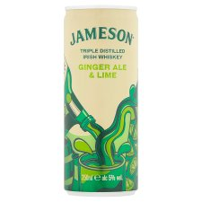 Jameson Whiskey Ginger Ale And Lime 250Ml