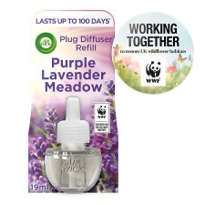 Airwick Air Freshener Purple Lavender Plug In Refill 17 Ml