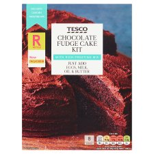 Tesco Chocolate Fudge Cake Kit 502G