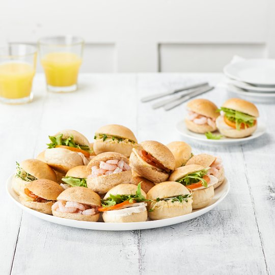 image 1 of Tesco Easy Entertaining Mini Roll Platter 20 Piece