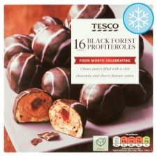 Tesco Black Forest Profiteroles 295G