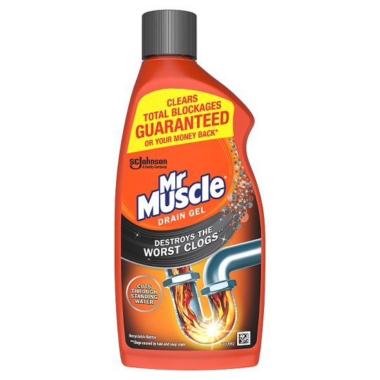 4b9ea8628bff Mr Muscle Kitchen & Bath Drain Gel 500Ml