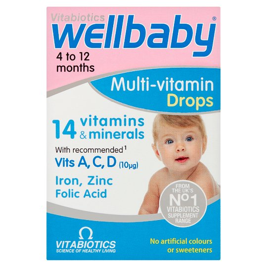 Wellbaby Infant Liquid Drops 30Ml