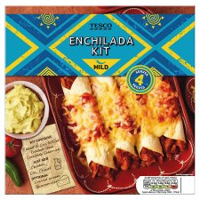 Tesco Mild Enchilada Kit 663G