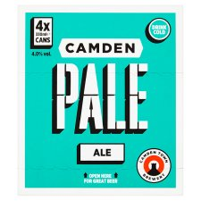 image 2 of Camden Pale Ale Can 4 X 330Ml