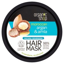 Organic Shop Argan And Amla Hair Mask 250Ml