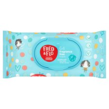 Fred And Flo 64 Fragranced Free Wipes