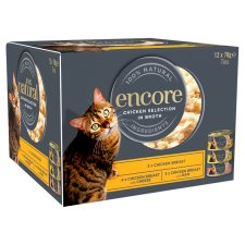 Encore Chicken Tinned Cat Food Food 12 X70g