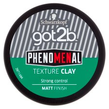 Schwarzkopf Got2b Phenomenal Texturising Clay 100Ml