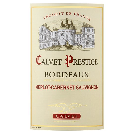 Calvet Prestige Bordeaux Red 75Cl