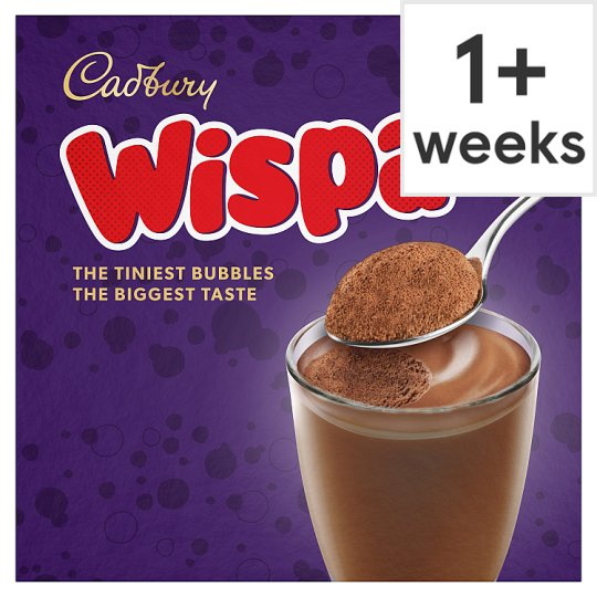 Cadbury Bubbles Of Joy Chocolate Mousse 4x45g Groceries