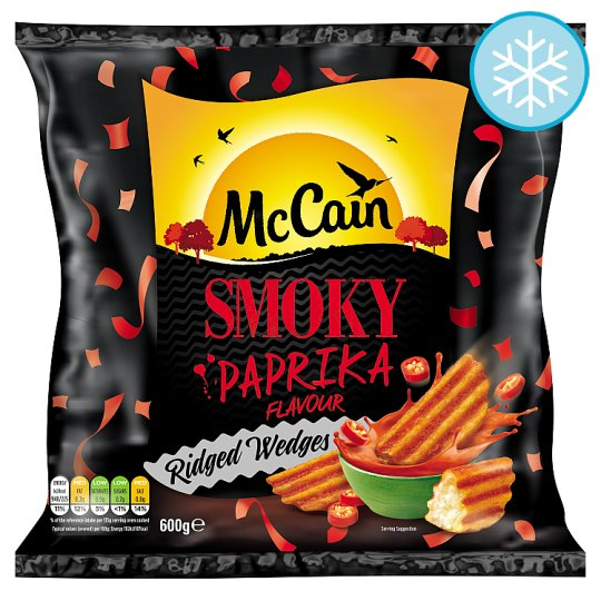 Mccain Smokey Paprika Wedges 600G