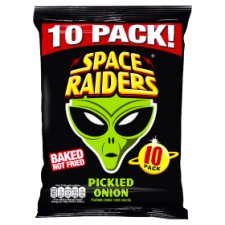 image 1 of Space Raiders Pickled Onion 10 X 11.8G