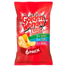 Golden Wonder Variety Pack 6X25g