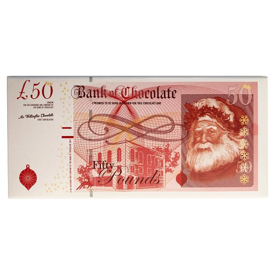 Tesco Milk Chocolate £50 Note 100G