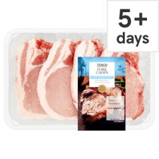 Tesco Pork Chops 4 Pack 900G