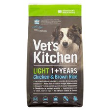 Vets Kitchen Light Dog Chicken And Brown Rice 1.3 Kilograms