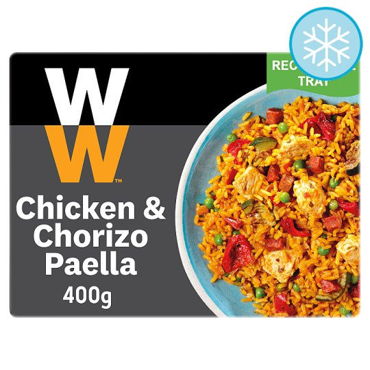 Weight Watchers Chicken Chorizo Paella 400G