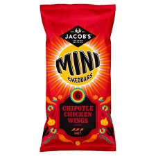 Jacob's Mini 6 Pack Cheddars Chipotle Chicken Wings 150G