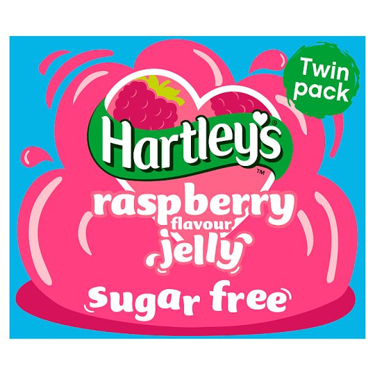 Hartleys Sugar Free Jelly Raspberry 23G