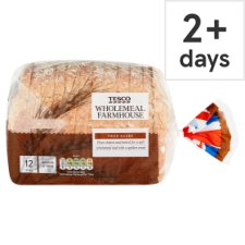Tesco Small Wholemeal Bread 440G