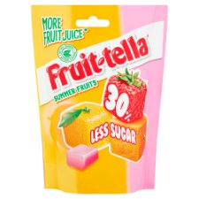image 1 of Fruittella Summer Fruit Less Sugar 120G