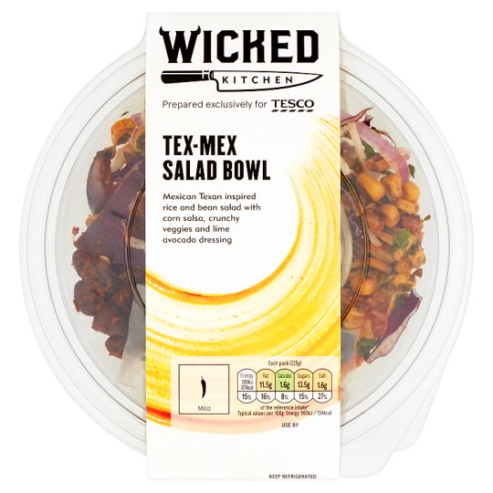 Wicked Kitchen Tex Mex Salad Bowl 225G
