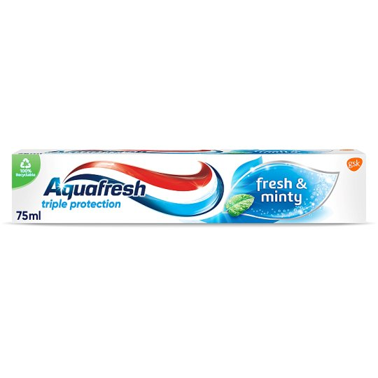 image 1 of Aquafresh Freshmint Toothpaste 75Ml