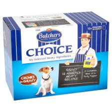 image 2 of Butchers Cuts In Gravy Dog Food Pouches 12 X100g