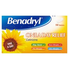 Benadryl on a day tablets - Tesco