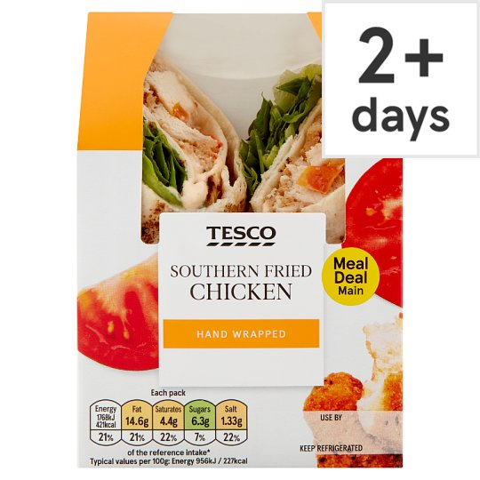Tesco Southern Fried Chicken Wrap