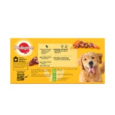 image 4 of Pedigree Can Meat Jelly Dog Food Tins 6X400g