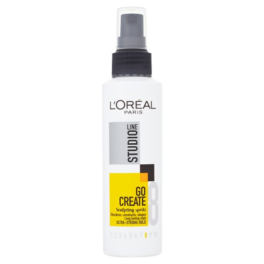 image 1 of L'Oreal Studio Line Line Go Sculpting Spritz 150Ml