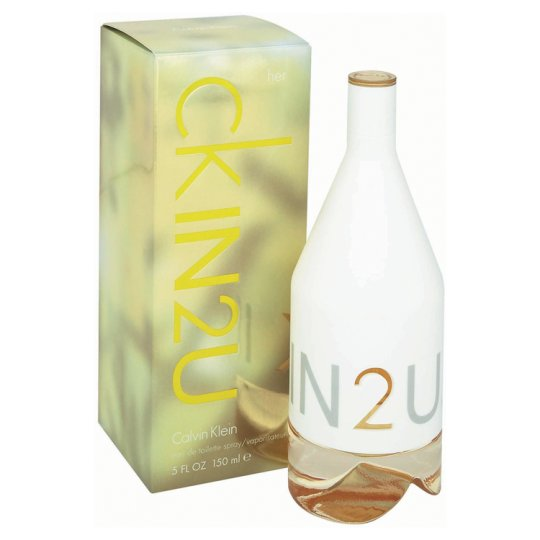 Calvin Klein In 2U For Her Eau De Toilette Spray 150Ml