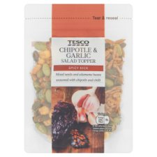 Tesco Chipotle And Garlic Salad Topper 100G