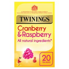 Twinings Cranberry Raspberry 20 Tea Bags 40G