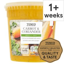Tesco Carrot And Coriander Soup 600G
