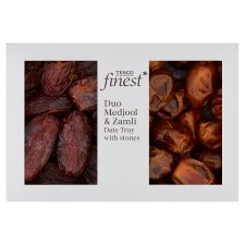 Tesco Finest Medjool And Zamli Dates 400G