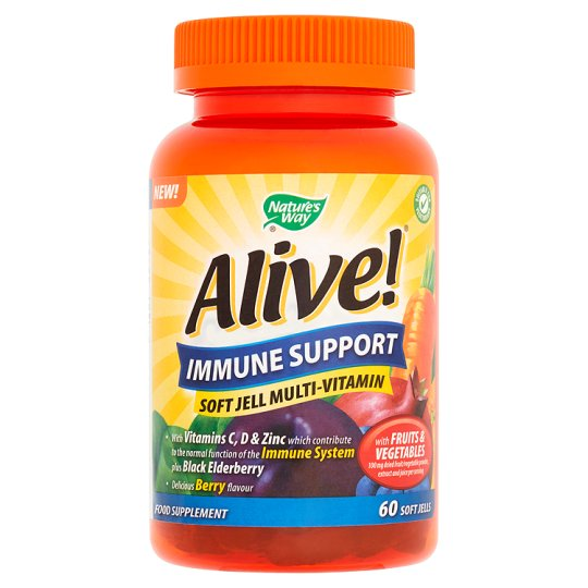 Alive Immune Support Soft Jell X60