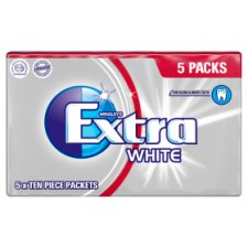 Wrigleys Extra White Gum 5 Pack