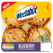 Weetabix Blueberry Breakfast Muffin 4 Pack