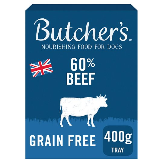 Butchers 60% Beef 400G Tray