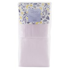 Tesco Cot Bed 2 Fitted Sheets Pink