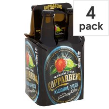 Kopparberg Strawberry And Lime Alcohol Free 4X330ml